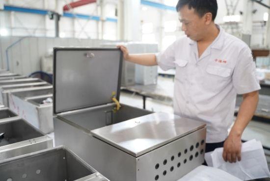 Enclosure Manufacturing Inspectation