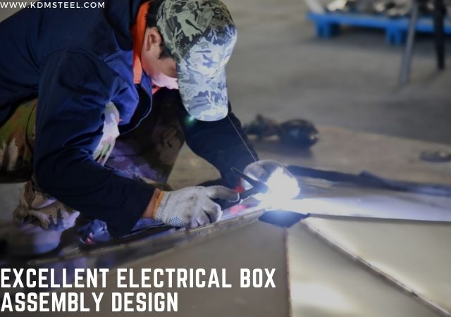 Excellent electrical box assembly design