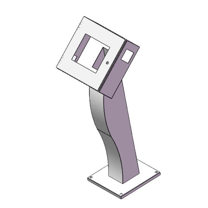 Floor Mount Electrical Enclosure