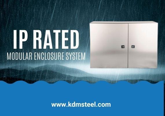 IP rated modular enclosure system