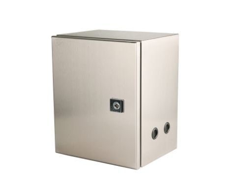 Indoor Use Stainless Steel Wall Mount Electrical Enclosure with Pocket