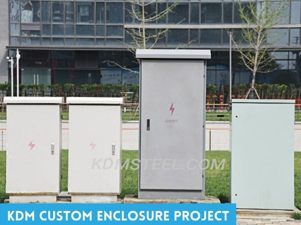KDM custom electrical enclosure project example
