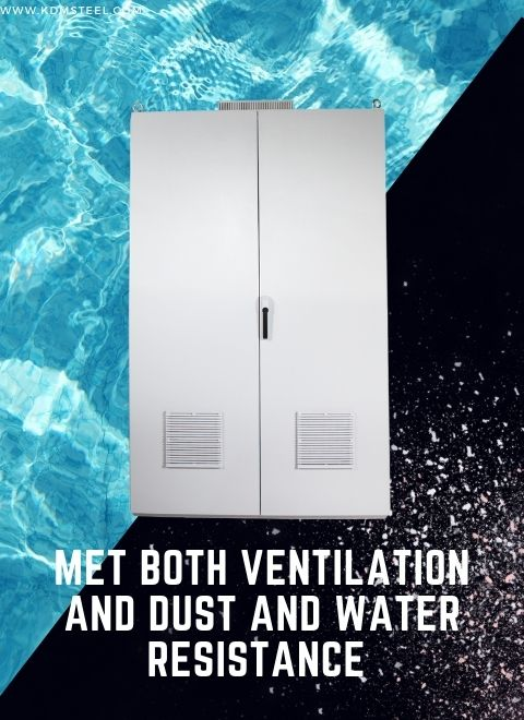 Met Both Ventilation and Dust and Water Resistance