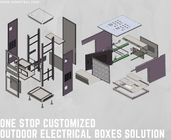 One Stop Customized Outdoor Electrical Boxes Solution