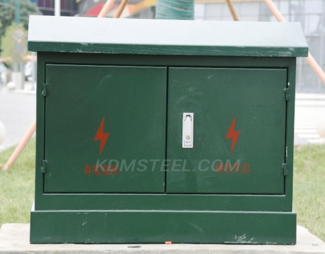 Outdoor battery enclosure