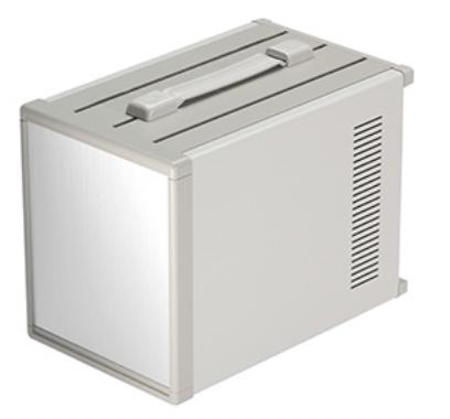 Portable battery enclosure
