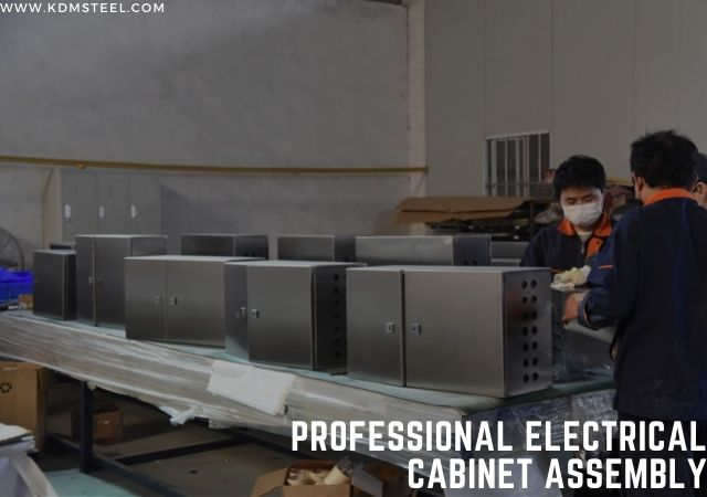 Professional electrical box assembly