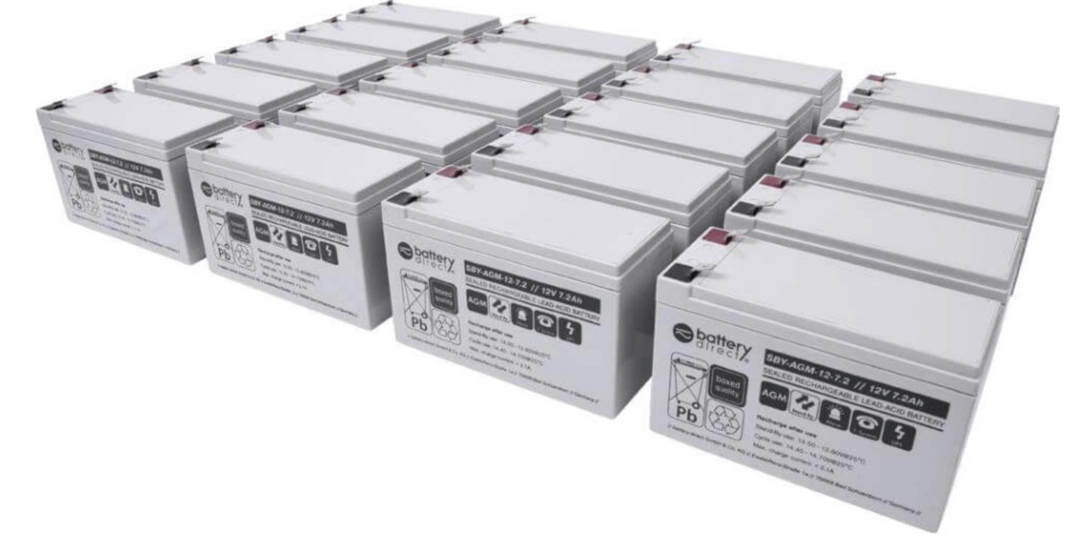 Quantity of batteries