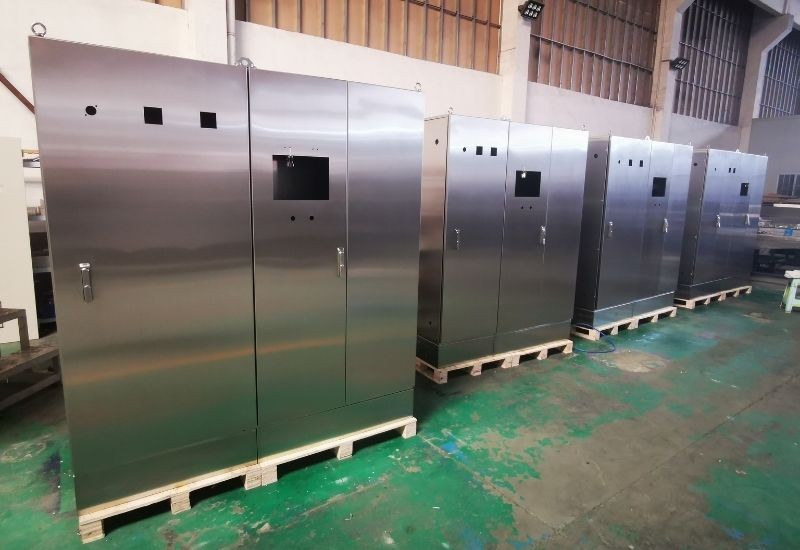 Stainless Steel Enclosure with Plinth