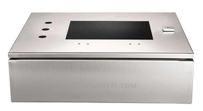 Stainless steel battery enclosure