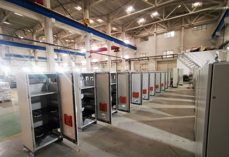 Steel Enclosures with Shelving