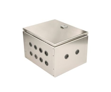 Vented Stainless Steel Electrical Enclosures