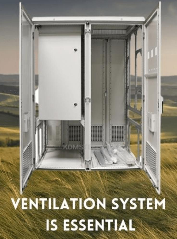 Vented battery enclosure