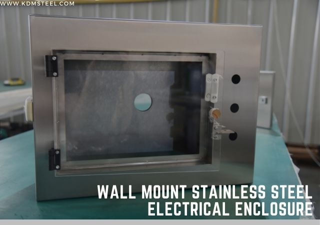 Wall Mount Stainless Steel Electrical Enclosure