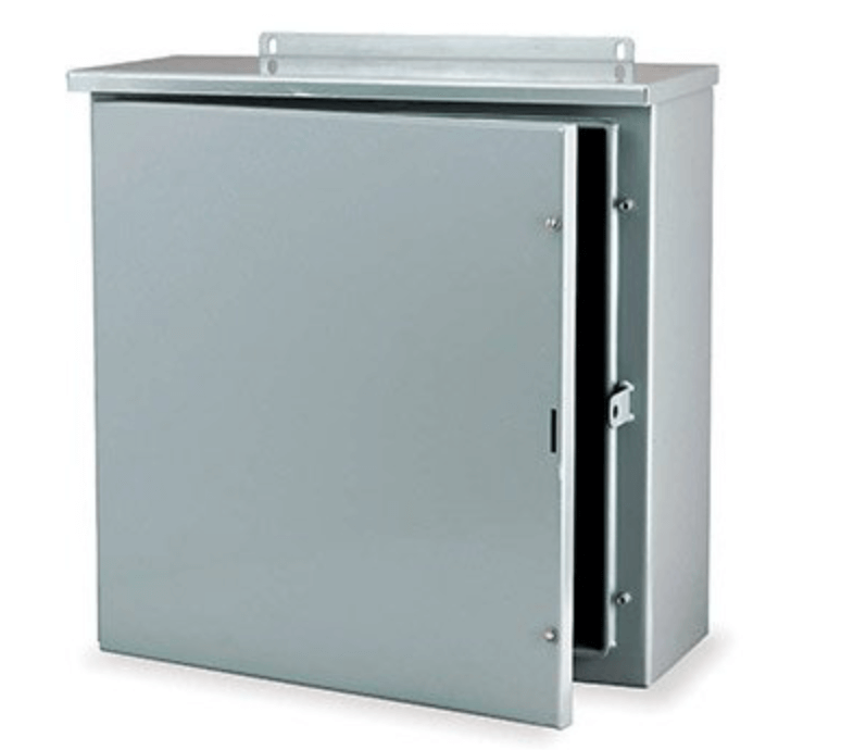 all-mounted battery enclosure