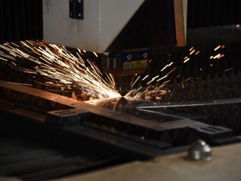 custom fabricated enclosure laser cutting