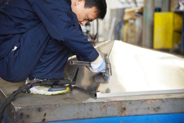 electrical enclosure box tig welding