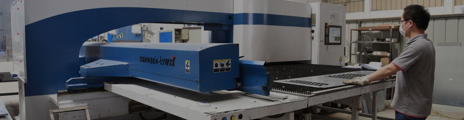electrical enclosure manufacturing equipment