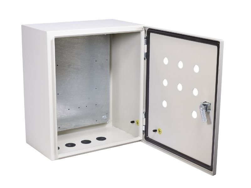 electrical enclosure with gasket