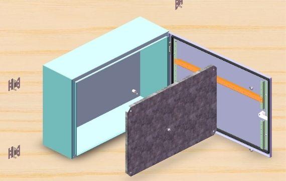 ip65 electrical enclosure design option