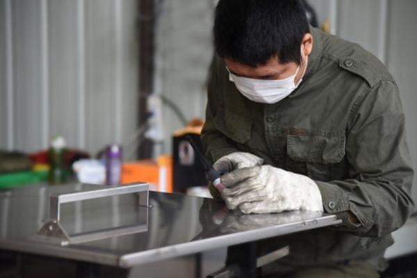 kdm enclosure box welding