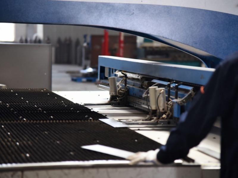 stainless sheet laser cutting to make electrical enclosure