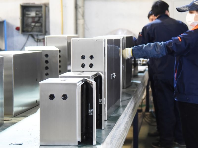 stainless steel Electrical Enclosure Assembly